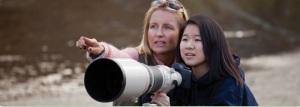 Telescope girl