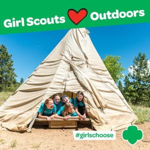 Girl Scouts Love Outdoors