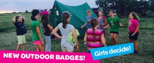 New Outdoor Badges