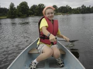 Camp Myeerah Canoes 2009